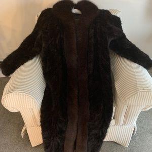 Luxury Authentic Mink Fur Coat